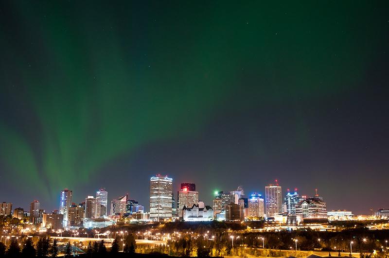 Cityscape Aurora