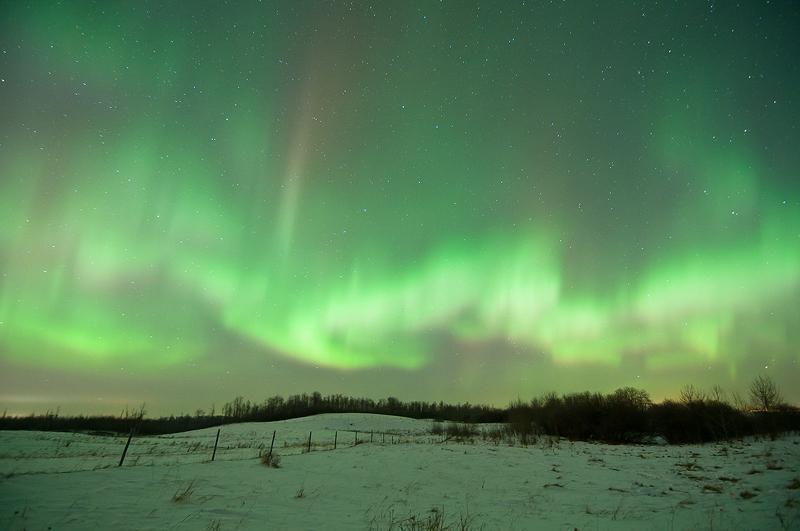 Aurora near Tofield