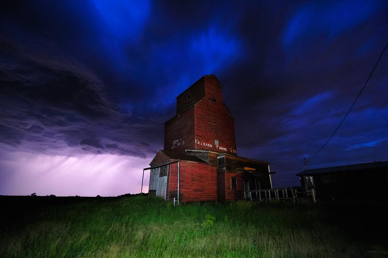 Stormy Prairie Skies