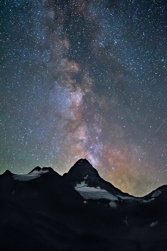 Milky Way over Mt Assiniboine